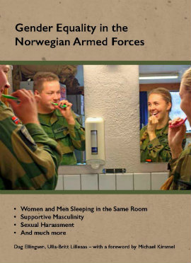 book cover with young people in the armed forces
