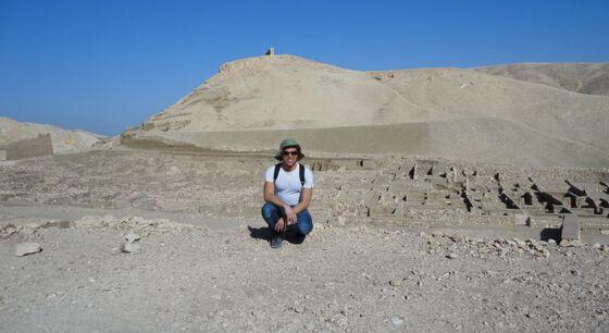 Reinert Skumsnes i Egypt